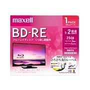 BEV25WPE.1J [録画用BD-RE インクジェットプリンター対応 ひろびろ美白レーベル 片面1層(25GB) 1枚]