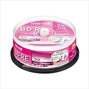 BEV25WPE.25SP [録画用BD-RE インクジェットプリンター対応 ひろびろ美白レーベル 片面1層(25GB) 25枚スピンドルケース]