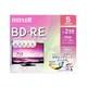 BEV25PME.5S [録画用BD-RE インクジェットプリンター対応 デザインプリントレーベル 片面1層(25GB) 5枚]