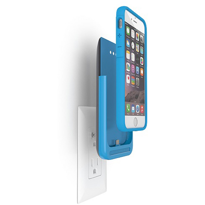 PWRC-IPH6S-BLU [iPhone 6s/6専用バッテリー内蔵ケース ブルー]