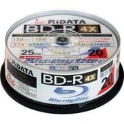 BD-R130PW 4X.20SP C [録画用BD-R 20枚 スピンドルケース 130分 4倍速 インクジェットプリンタ対応]