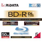 BD-R260PW 6X.5P SC A [録画用BD-R DL 5枚 スリムケース 260分 6倍速 インクジェットプリンタ対応]