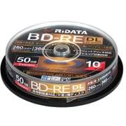 BD-RE260PW 2X.10SP A [録画用BD-RE DL 10枚 スピンドルケース 260分 2倍速 インクジェットプリンタ対応]