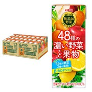 無添加野菜 48種の濃い野菜と果物 200ml×24本 [野菜飲料]
