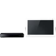 UN-15TD6-W [プライベート・ビエラ 15型 ブルーレイディスクプレーヤー/HDDレコーダー付 ポータブル地上・BS・110度CS対応 デジタルテレビ HDD500GB内蔵 ホワイト]