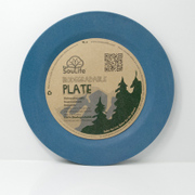Side Plate Navy