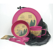 Camper Set Main Plate Pink