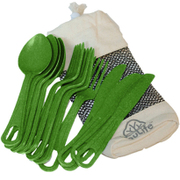 Cutlery Cluster Green