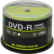 GH-DVDRCA50 [DVDメディア 1回録画用DVD-R スピンドル 50枚入り]