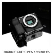 XS-CHA6300BK [ソニー α6300用 本革カメラハーフケース ブラック]