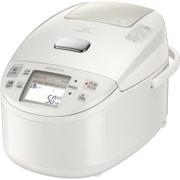 RZ-YV100M W [圧力&スチームIH炊飯器 5.5合炊き ふっくら御膳 打込鉄釜 パールホワイト]
