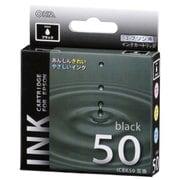 INK-E50B-BK [エプソン互換インク 50 BK ブラック]