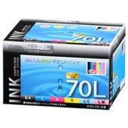 INK-E70LB-6P [エプソン互換インク 70L 6P]