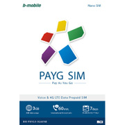 BM-PAYG3-3G60NE [b-mobile PAYG SIM Nano English]