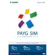 BM-PAYG3-3G60C [b-mobile PAYG SIM Regular Chinese]