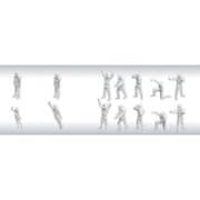 1/100 MSフィギュア01(ホワイト) [ガンプラ ビルダーズパーツ]