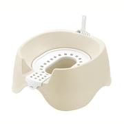 コロル 節約簡単ネコトイレ ベージュ [猫用トイレ 固まる猫砂用]