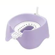 コロル 節約簡単ネコトイレ パープル [猫用トイレ 固まる猫砂用]