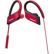 RP-BTS30-R [ワイヤレスステレオヘッドホン Bluetooth対応 IPX4防滴仕様 レッド]