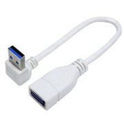 USB3A-CA20UL [USB3.0L型ケーブル延長20cm 上L]