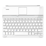 A7708121 [ウルトラスリムキーボードカバー iPad 4/3/2用 ホワイト]