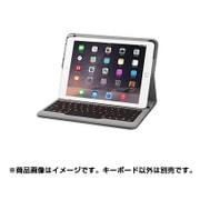 A7751511 [iPad Air 2 Backlit Bluetoothキーボードケース ブラック]