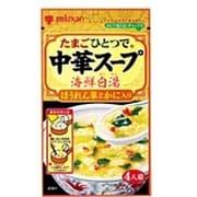 中華スープ 海鮮白湯 ほうれん草とかに入り 27g