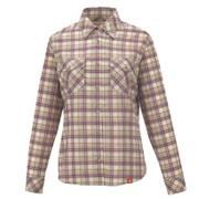 8212696 SCプレイドシャツ レディース Sサイズ ライトグリーン