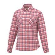 8212696 SCプレイドシャツ レディース Lサイズ モーブ