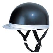 CC-201 ブラックメタリック フリーサイズ [ハーフヘルメット]
