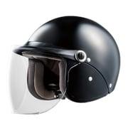 SJC BK フリーサイズ [ジェットヘルメット]