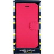 AM-364PK [iPhone 6s/6用 エピ柄カードポケット付ケース ピンク]