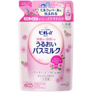 角層まで浸透する うるおいバスミルク やさしいミルクローズの香り つめかえ用 [480mL]