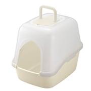 コロル フード付ネコトイレ ベージュ [猫用トイレ 固まる猫砂用]