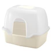 コロル ネコトイレ F60フード付 ベージュ [猫用トイレ 固まる猫砂用]