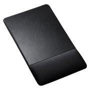 MPD-GELNNBK [リストレスト付きマウスパッド 布素材 高さ標準 ブラック]