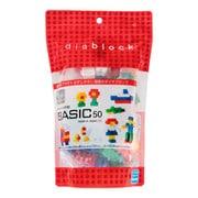diablock(ダイヤブロック) DBB-05 BASIC 50 [ブロック玩具 対象年齢:3歳~]