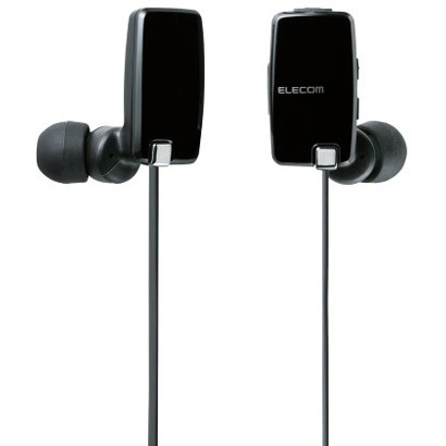 LBT-HP05BK/N [Bluetoothインイヤー型ヘッドホン NFC対応 apt-X対応 ブラック]