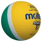 SLD2ML [ライトドッジボール 軽量 2号球 ML黄×緑]