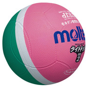 SLD2MP [ライトドッジボール 軽量 2号球 MP緑×ピンク]