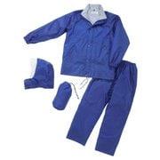 #01570-BLU-3L メンズ 上下スーツ ブルー 3L