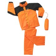 #14708-ORG-140 ガールズ 上下スーツ オレンジ 140cm