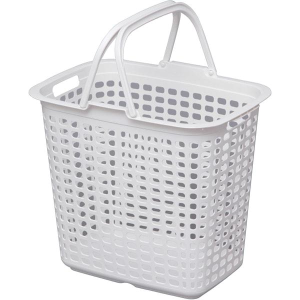 LB-L ピュアホワイト [ランドリーバスケット Lサイズ ピュアホワイト]