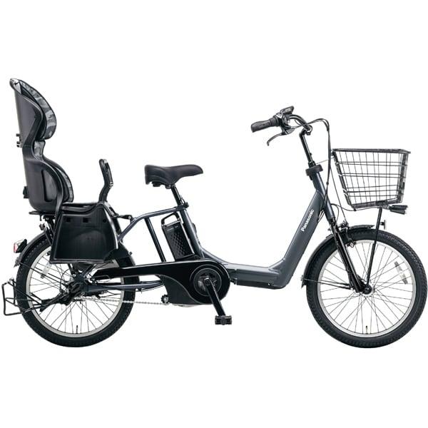 BE-ELMA03AN [電動アシスト自転車 子乗せ ギュット・アニーズ・DX 20型 内装3段変速 12.0Ah プラズマグレー]