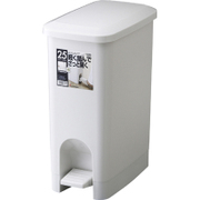 HOME&HOME ペタルペール 25PS グレー [ゴミ箱]