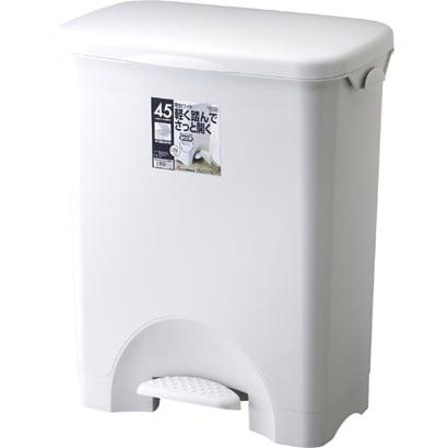 HOME&HOME ペタルペール 45PS ワイド グレー [ゴミ箱]