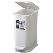 HOME&HOME ペタルペール 15PS グレー [ゴミ箱]
