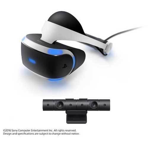 PlayStation VR(プレイステーション ヴィーアール) PS Camera 同梱版 CUHJ-16001 [PlayStation4専用バーチャルリアリティシステム]