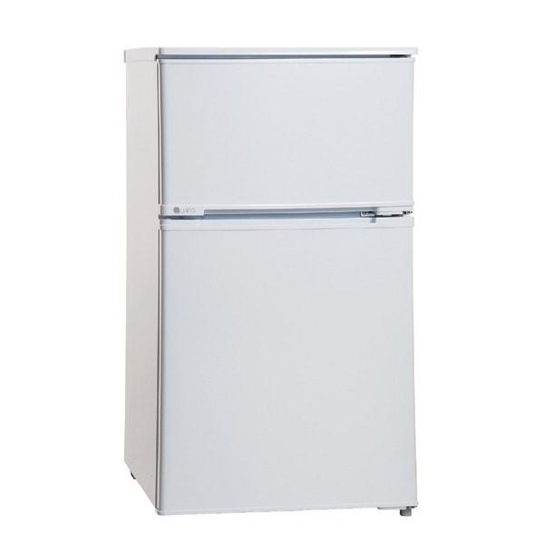 UR-D90J-W [冷蔵庫 2ドア 90L 直冷式 ホワイト]
