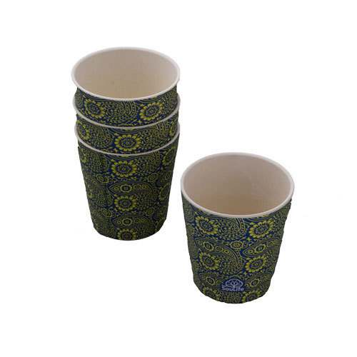 4 Sipper Cups Paisely